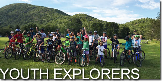 Youth Explorers - Summer Learn to Ride Program